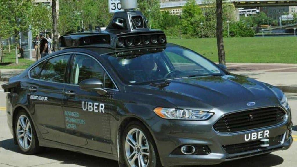 carros autonomos da uber