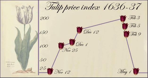 bolha financeira das tulipas