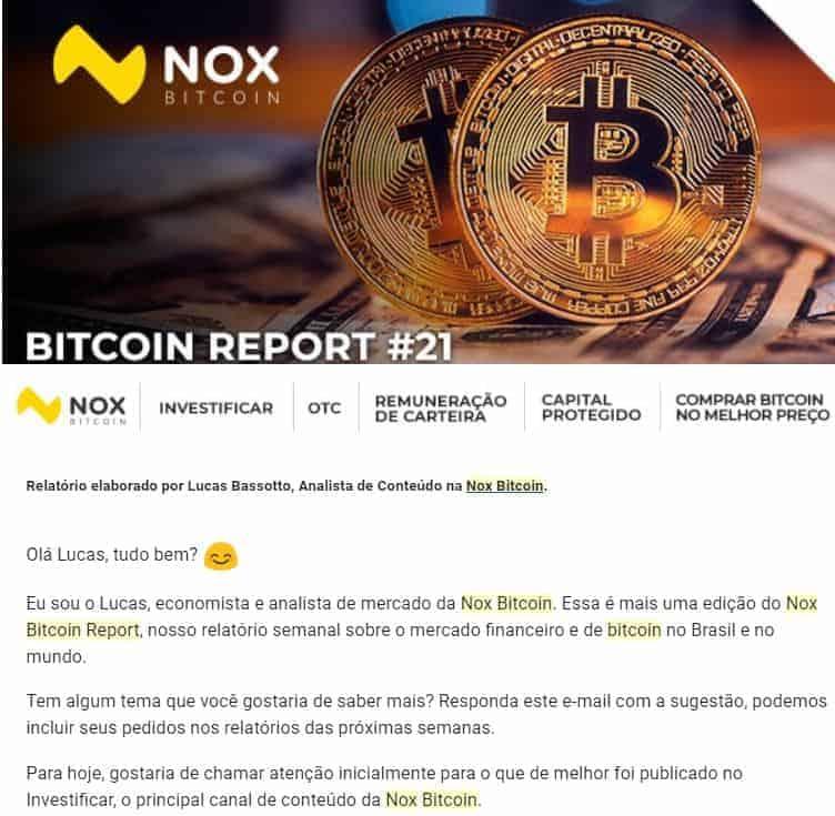 nox bitcoin report
