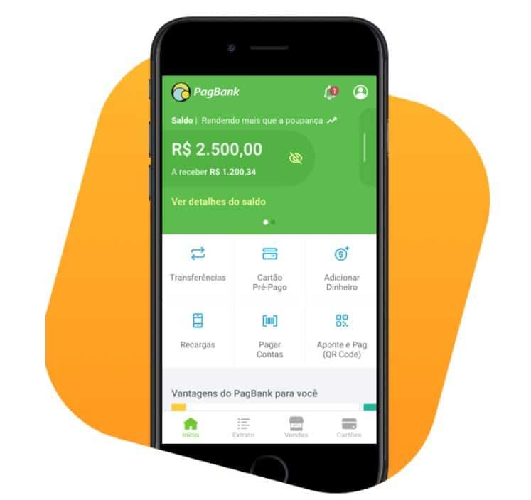 app do pagbank melhores bancos digitais