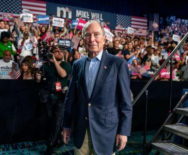 bloomberg abandona campanha