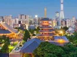 taxa de juros japão