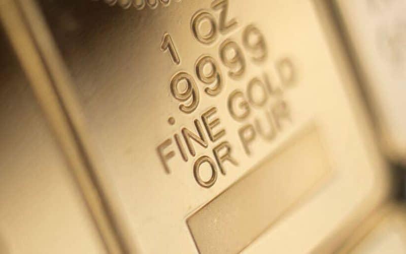 ouro máxima histórica