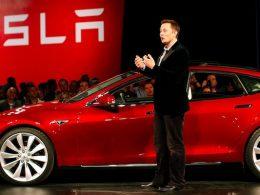 Ações da Tesla disparam