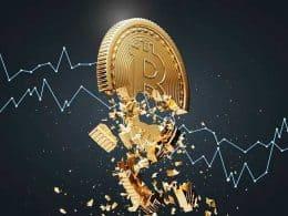 Bitcoin atinge maior baixa em 3 meses
